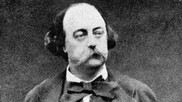 Flaubert uses many different techniques in addressing his themes